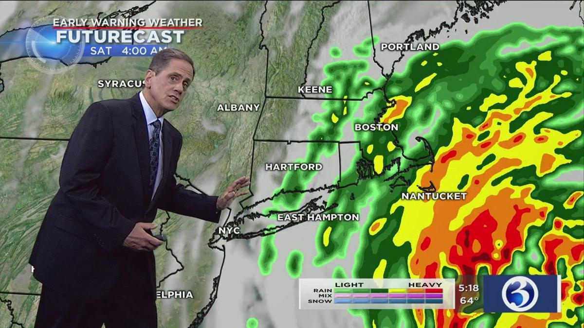 FORECAST: Dorian to bring wind, rain to part of the state