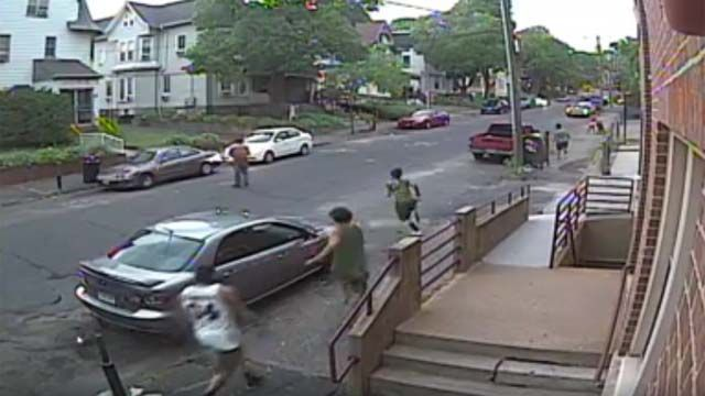 Waterbury police investigating shooting that was caught on camera