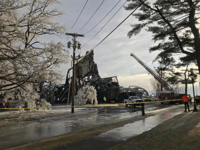 Stratford Theater Fire Total Loss