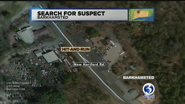Police find vehicle of interest involved in deadly hit-and-run crash in Barkhamsted