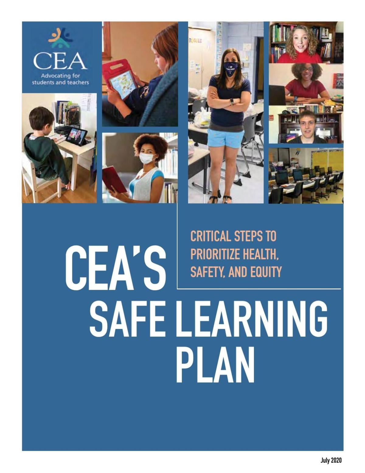 CEA's safe learning plan