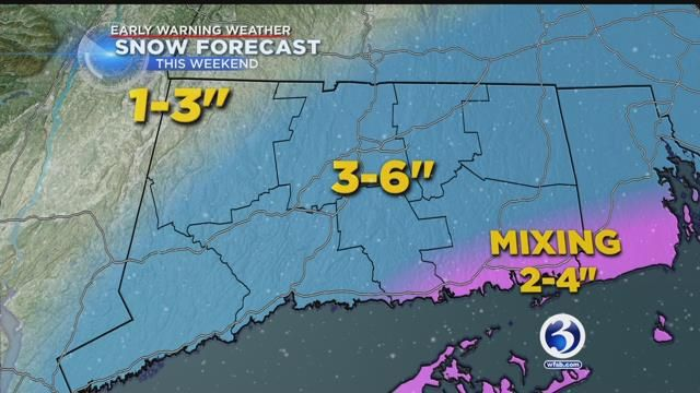 Channel 3 names 1st storm of season as parts of CT under winter weather warning