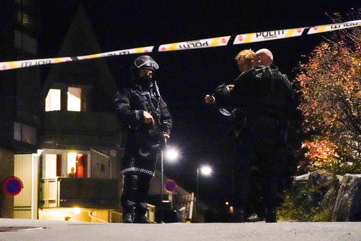 Norway bow-and-arrow attack being treated as terrorism, police say