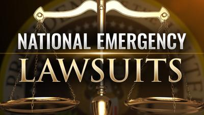 National emergency lawsuits
