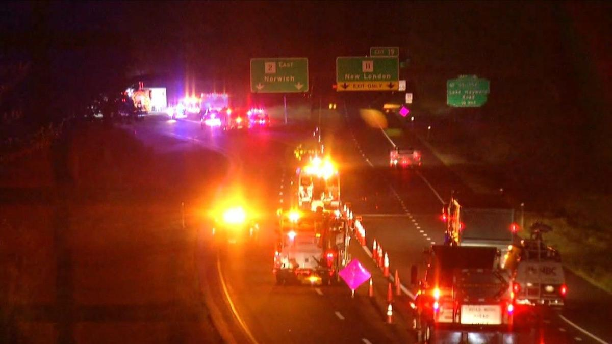 Route 2 in Colchester reopens following frozen food truck rollover