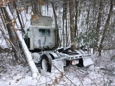 Tractor Trailer in Tolland