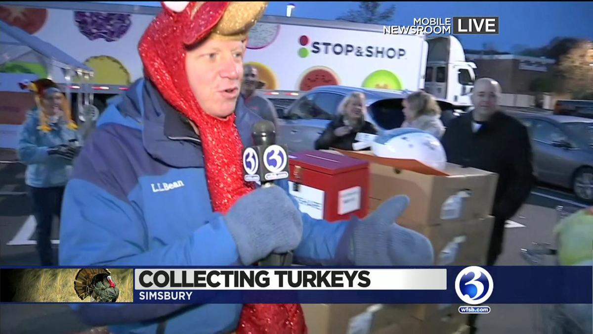 VIDEO: Scot Haney collects turkeys for Foodshare
