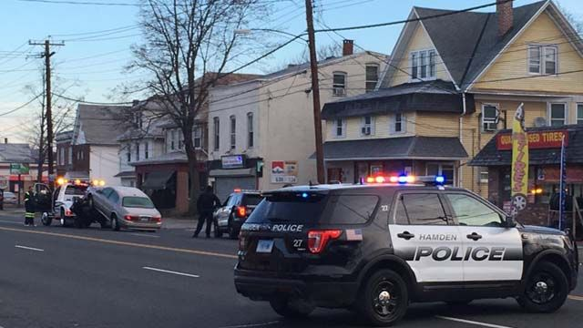 Man killed after being hit by car in Hamden