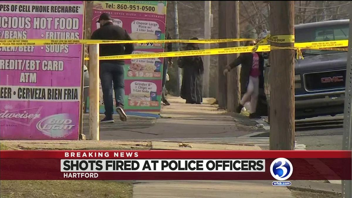 VIDEO: Suspects in custody after shots fired at Hartford officers