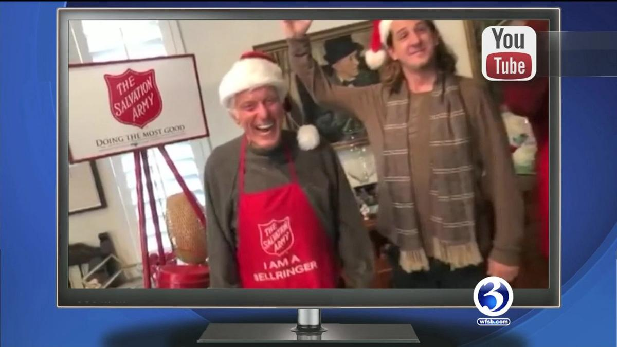 TRENDING NOW: Santa surprise, Dick Van Dyke Salvation Army, newborn ugly sweaters