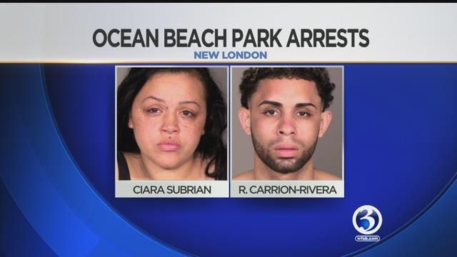 Two arrested during altercation at Ocean Beach Park