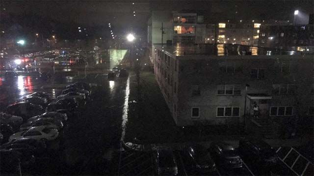 Power outage at UNH dorm forces students out of building