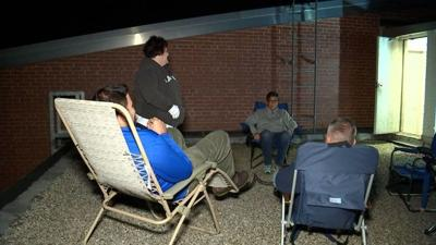 Plainville administrators camp out for good cause