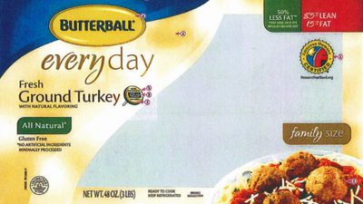 Butterball recalls turkey products due to possible salmonella