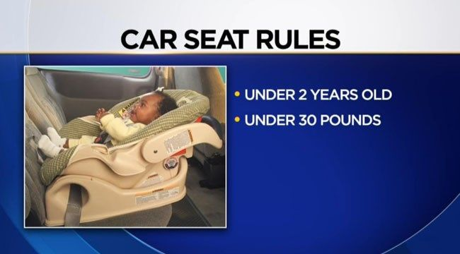 New car seat law goes into effect