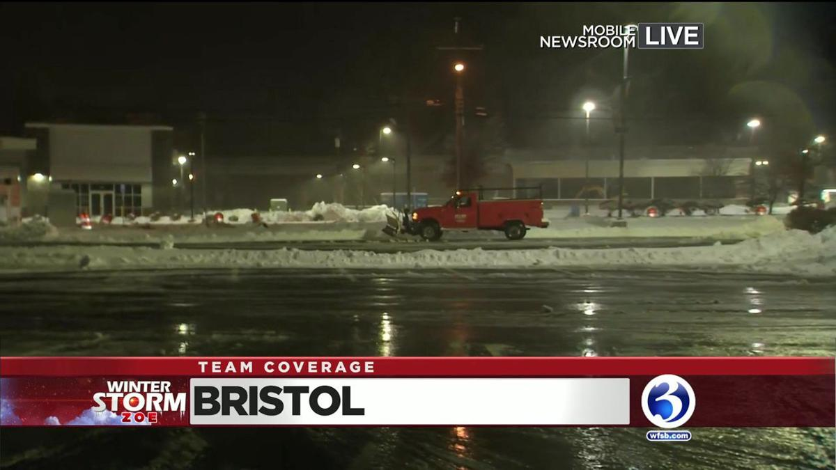VIDEO: Bristol sees 10 inches of snow