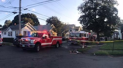 Firefighters rescue man inside home during fire in West Haven