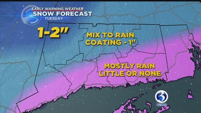 Wintry mix could make for slippery morning commute