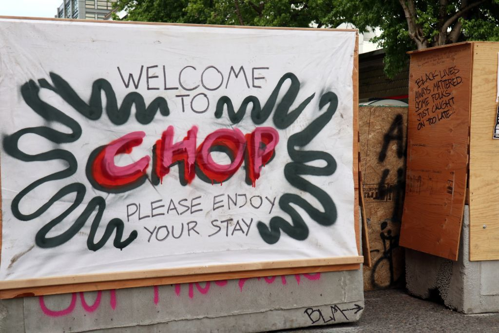 Seattle CHOP CHAD protest zone