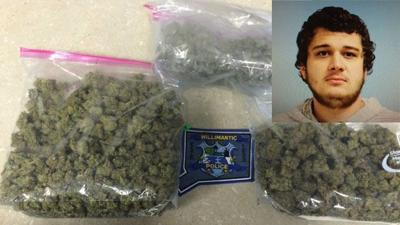 Man stopped for speeding arrested for having nearly a pound of marijuana