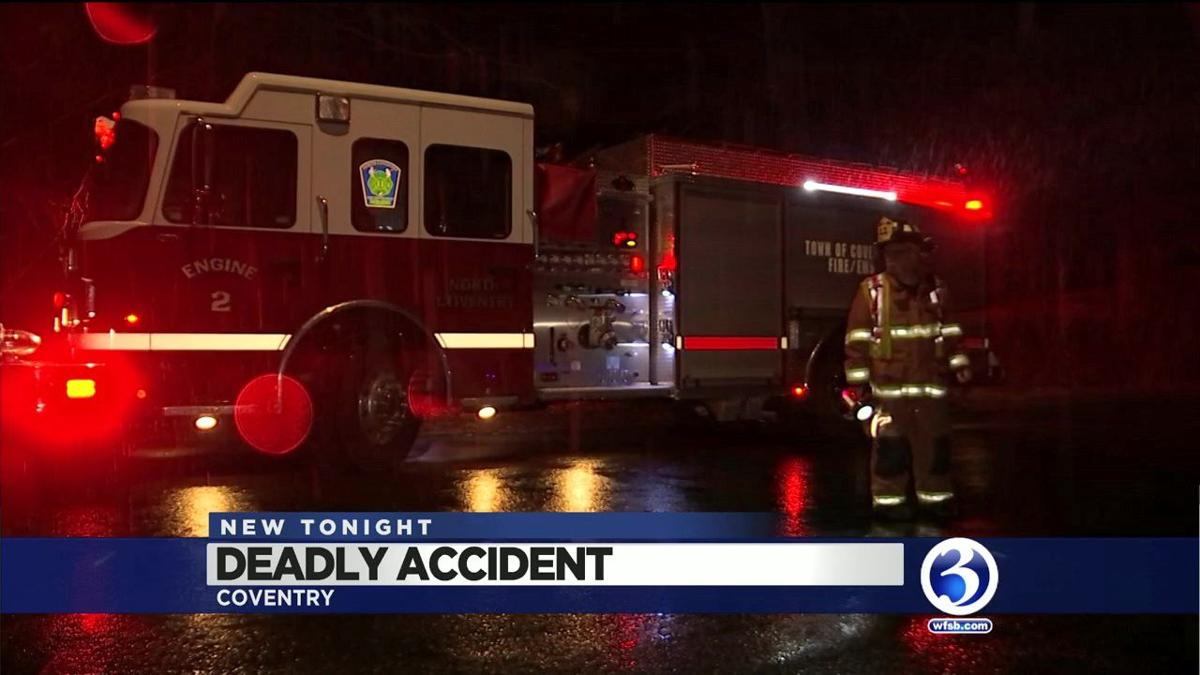 VIDEO: Deadly crash Coventry