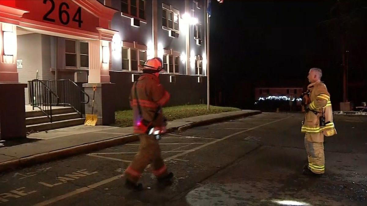 Crews respond to apartment complex fire in Milford