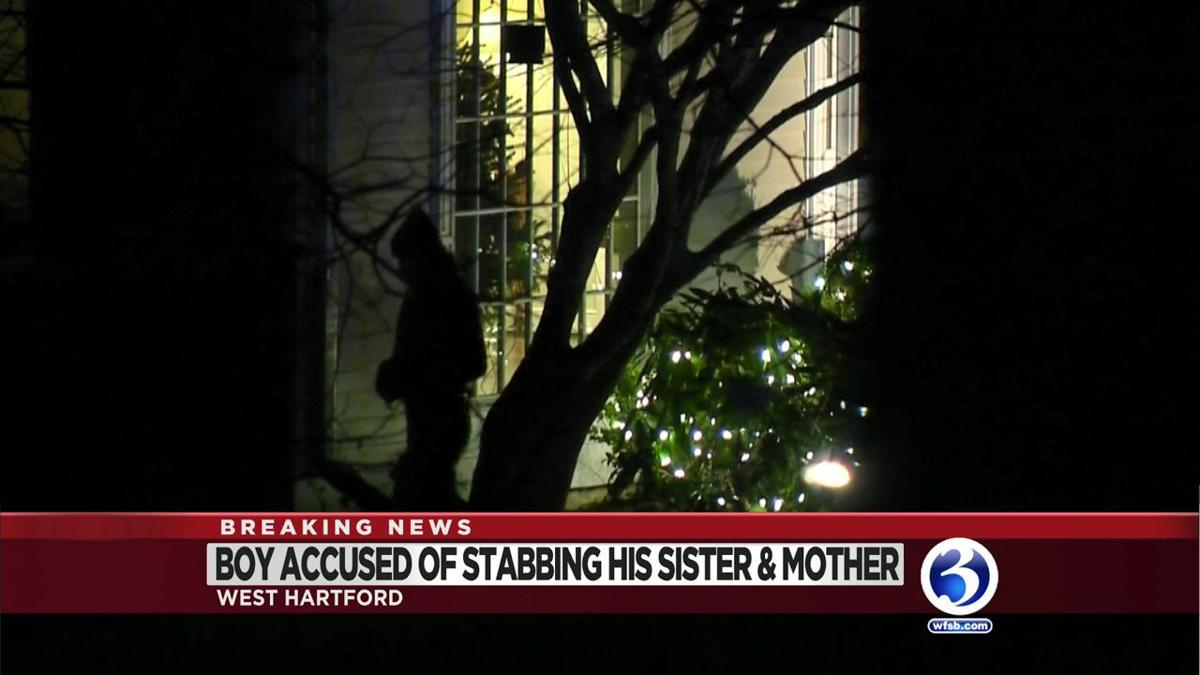 Video: Boy accused of killing sister, injuring mother during West Hartford stabbing