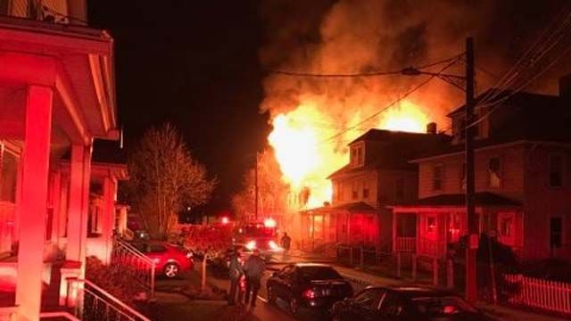 Middletown house destroyed by suspicious fire