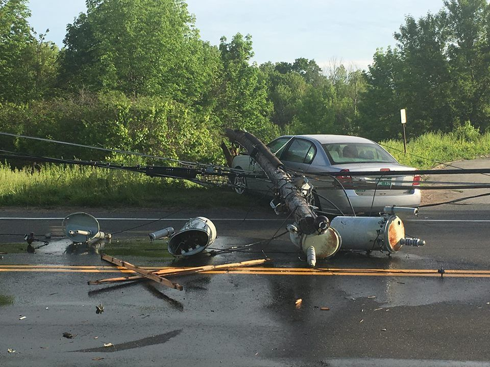 Section of Route 140 closed in East Windsor following crash