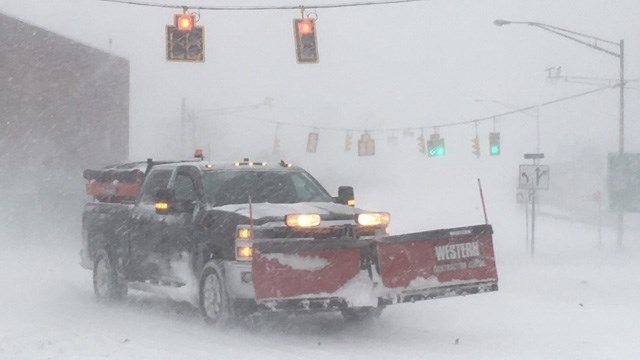 Snow ends overnight, dangerously cold temps to follow