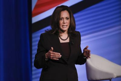Kamala Harris says she'll ban imports of all AR-15 style assault weapons if Congress doesn't act