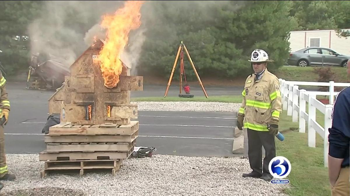 VIDEO: Fire equipment training demonstration held in Waterford