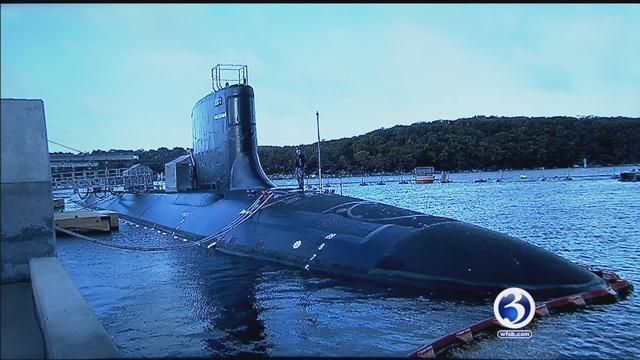 First lady to christen Groton submarine