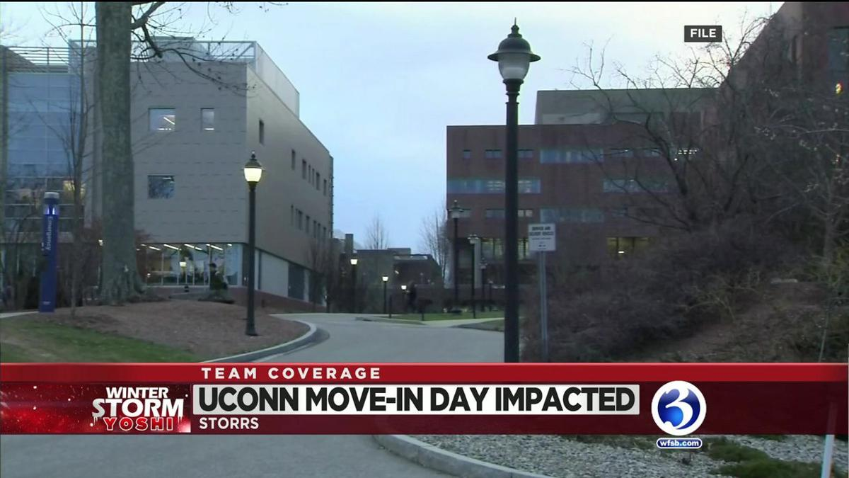 VIDEO: UConn move-in day impacted
