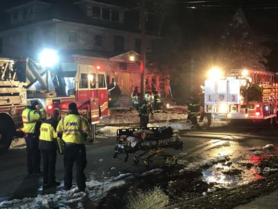 Crews respond to fire on Tremont St. in Hartford