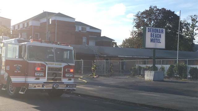 Fire at abandoned motel in West Haven deemed suspicious