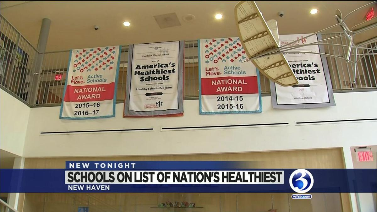 4 CT schools named as some of America's Healthiest Schools