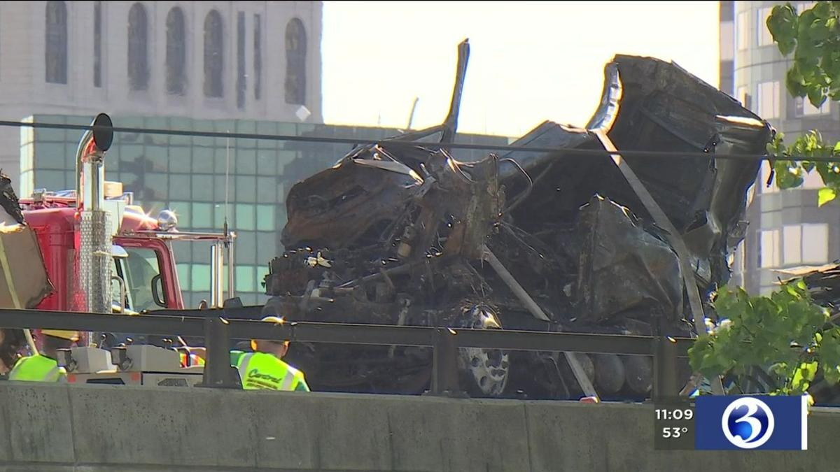 VIDEO: I-84 in East Hartford reopens after deadly crash