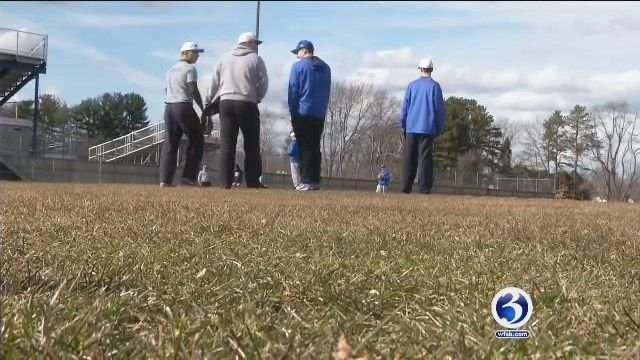 High school spring sports teams adapt to winter-like weather