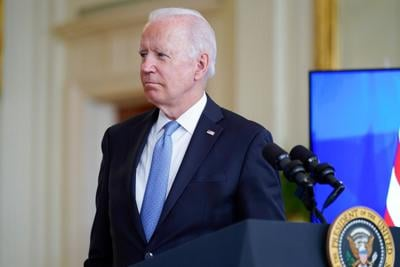 Biden argues US is an at 'inflection point' as he pushes economic agenda