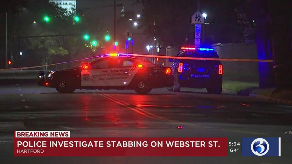 Video: Man stabbed in chest several times in Hartford