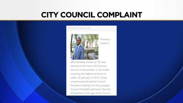 Hartford council president cited in the past for 'touching'