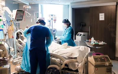 First, surges in Covid-19 infections led to shortages of hospital beds and staff. Now it's oxygen