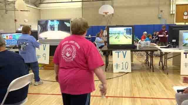 Nearly 100 seniors participate in Wii bowling championship
