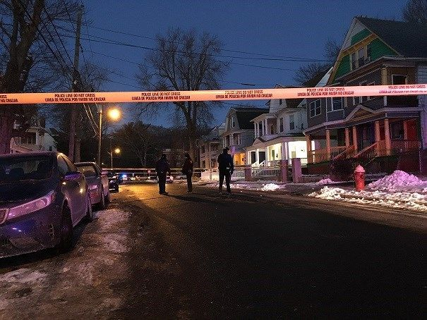 Person shot New Year's Day in Hartford