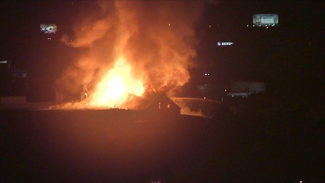 Waterbury crews battle large fire at vacant factory