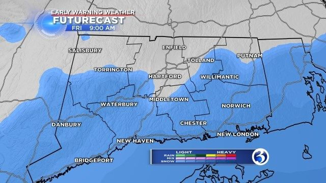 Bitter cold to come after Friday's snowstorm