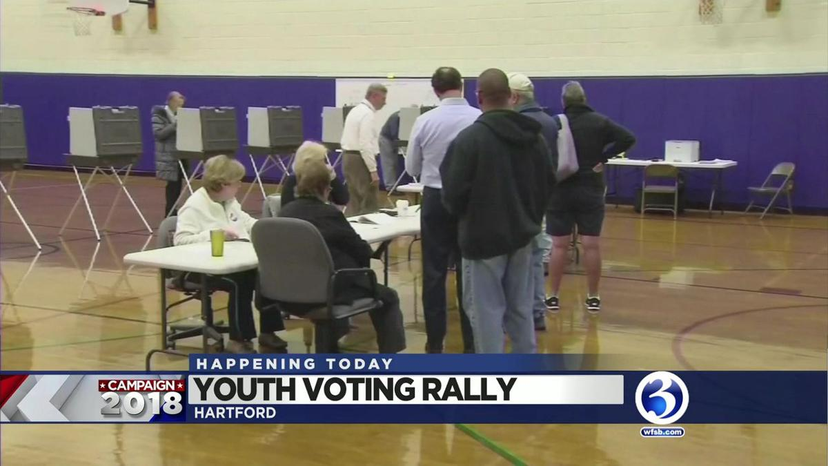 VIDEO: Rally set to engage young voters