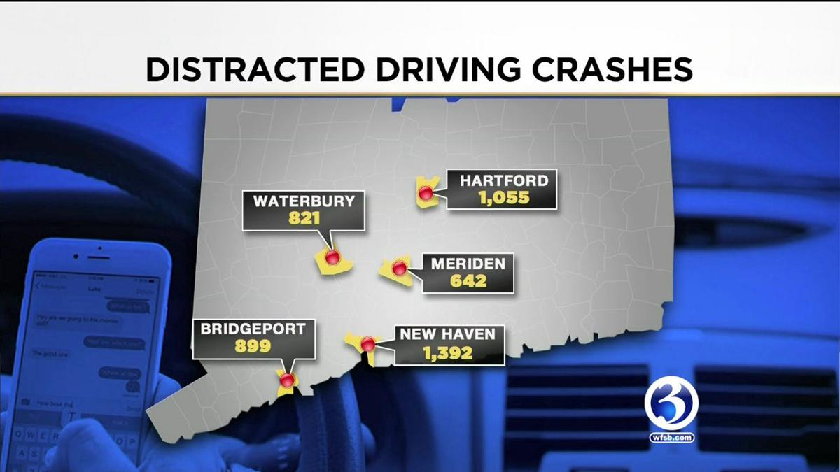 VIDEO: Study: New haven leads state in distracted driving crashes