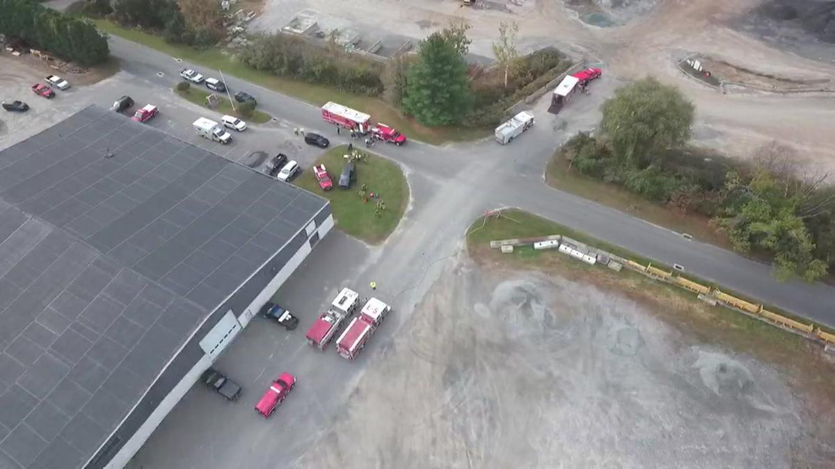 DRONE 3: Hazmat situation closes Canton transfer station